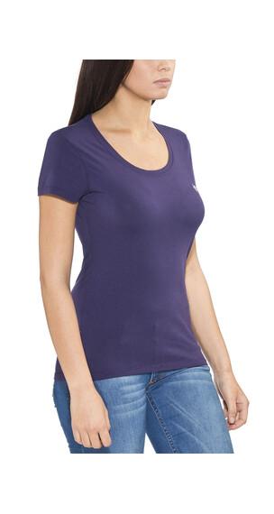E9 Solid Lady T-Shirt Woman Purple